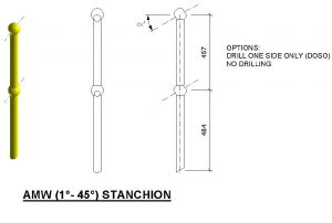 Stanchion AMW