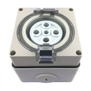 Outlet Round Pin Socket
