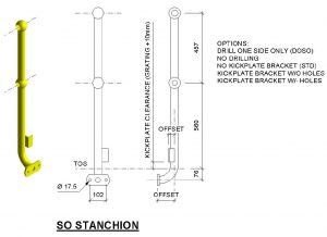 Handrailing Stanchion SO
